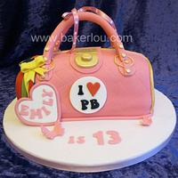 Paul's Boutique Pink Handbag Cake