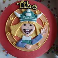 Wicky the Viking cake