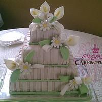 Alcatraz Wedding Cake