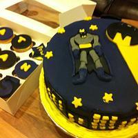 Batman Cake by Rania Freij