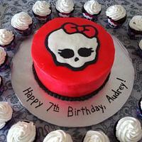 Monster High Skulette Cake