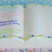 Baby Blessings cake