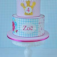 Room Seven style cake
