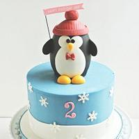 Party Penguin Cake