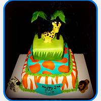 Whimsical Safari Birthday