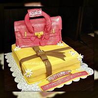 Hermes Bag Cake