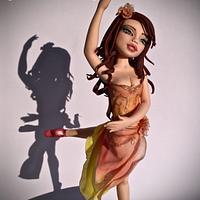 Dancing lady...