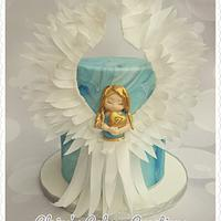 Angel cake by Claire