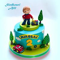 Little Boy Birthday Cake
