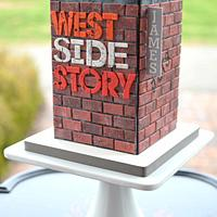 West Side Story Cake