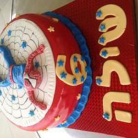 Spider-Man cake by Taanuga