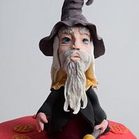 Wizard cake topper!!