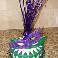 mardi gras themed