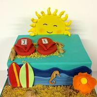Small summer cake for brothers