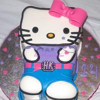 2-D Hello Kitty