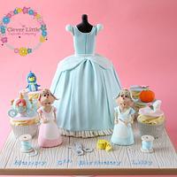 Cinderella Dress Cake