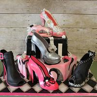 Shoe lover cake