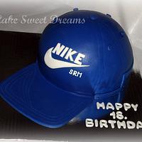 Nike Hat Cake