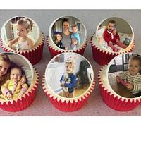 Photo topper Cupcakes
