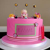 Emmes Birthday Cake