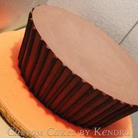 Giant Reece's Groom's Cake