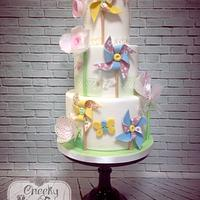 Paper Crafting on Cake