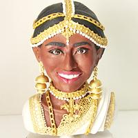 Maheshi - Sinhalese Bride for Beautiful Sri Lanka Collaboration by Gauri Kekre