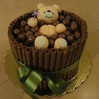 Maltesers  Bath cake