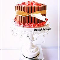 Red velvet cake  by Shorna's Cake Corner