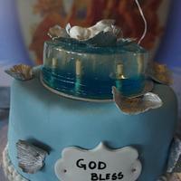 Christening Ceremony Theme Cake
