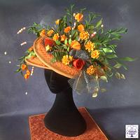 Royal Ascot Hats and Fashion Collaboration 2016 Floral Hat