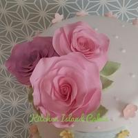 Roses and pastels