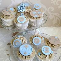 Thank You cupcakes by Amanda Earl Cake Design