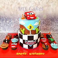 Macqueen cars cake