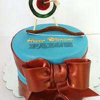Brave themed Birthday Cake
