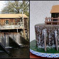 Historical Grist Mill & Waterfall
