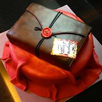 Vampire Diaries B-day Cake