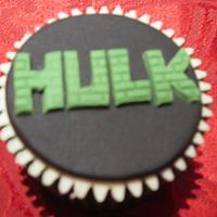 Superheroes cupcakes by Cla1re