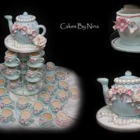 Time for Tea Vintage Style by Cakes by Nina Camberley