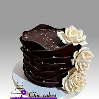 Elegant chocolate cake