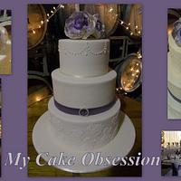 Chelsie's Wedding Cake
