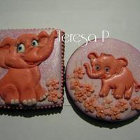 Różowe słonie