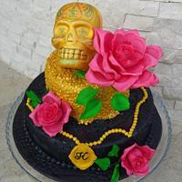 Halloween cake for birthday