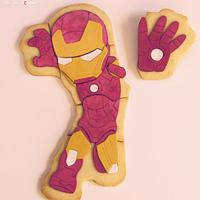 IRON MAN Cookie Puzzle