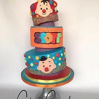 Bumba cake & cupcakes