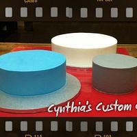 Naked Buttercream Cakes =)