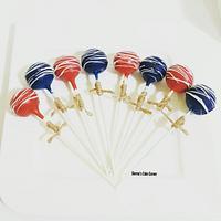 Customized cakepops