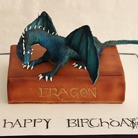 Eragon Saphira cake