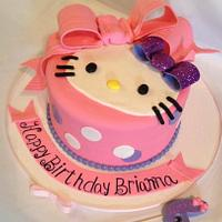 Hello Kitty Birthday Bow