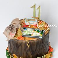 Geocaching cake